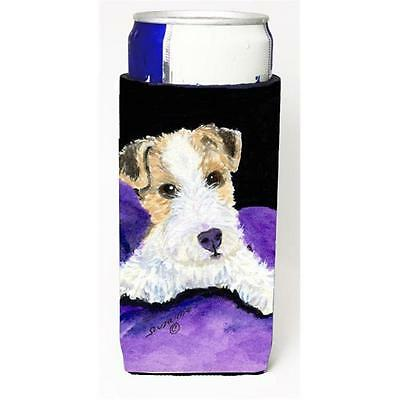 Carolines Treasures SS8971MUK Fox Terrier Michelob Ultra s For Slim Cans 12 oz.