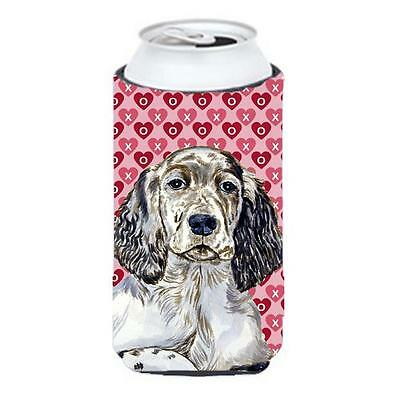 English Setter Hearts Love And Valentines Day Portrait Tall Boy Hugger 22 To ...