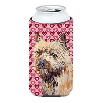Cairn Terrier Hearts Love And Valentines Day Portrait Tall Boy Hugger 22 To 2...