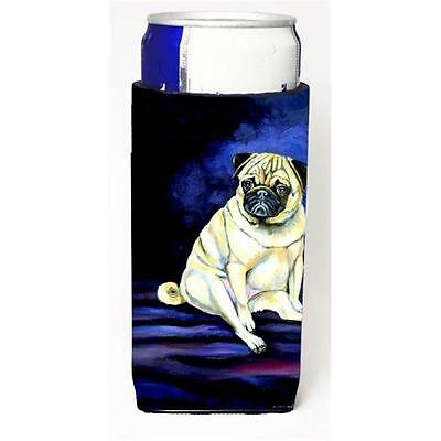 Fawn Pug Penny for Your Thoughts Michelob Ultra bottle sleeve for Slim Can