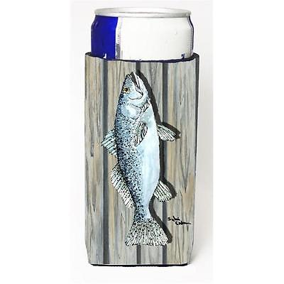 Fish Speckled Trout Michelob Ultra bottle sleeve for Slim Can