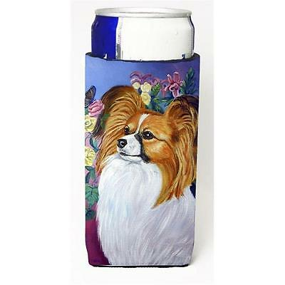 Carolines Treasures 7041MUK Papillon Michelob Ultra bottle sleeve for Slim Can