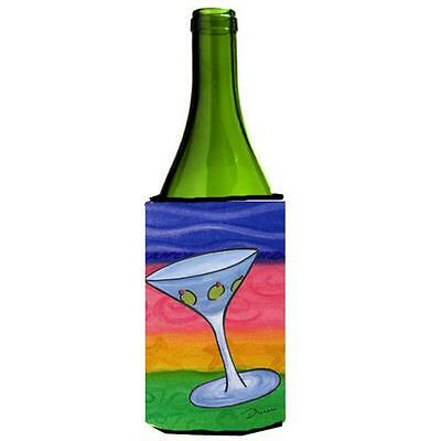 Carolines Treasures LD6039LITERK Martini Wine bottle sleeve Hugger 24 oz.