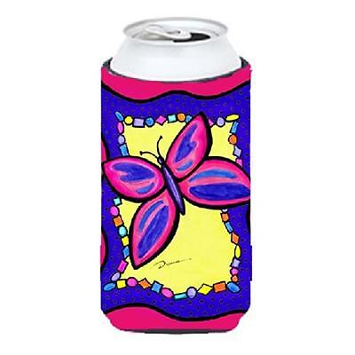 Carolines Treasures LD6049TBC Butterfly Tall Boy bottle sleeve Hugger