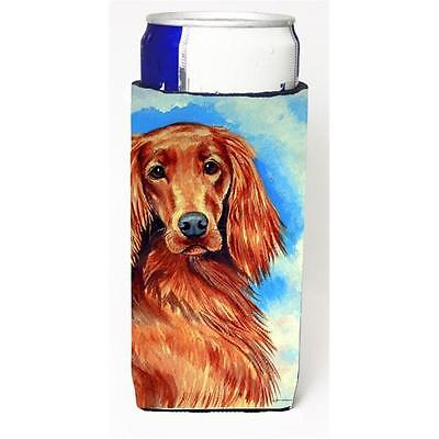 Carolines Treasures Irish Setter Michelob Ultra bottle sleeve for Slim Can