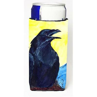 Carolines Treasures Bird Black Bird Michelob Ultra s For Slim Cans 12 oz.