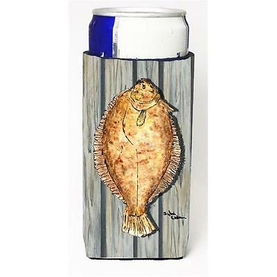 Carolines Treasures Fish Flounder Michelob Ultra bottle sleeve for Slim Can