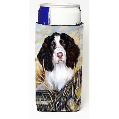 Carolines Treasures Springer Spaniel Michelob Ultra bottle sleeve for Slim Can