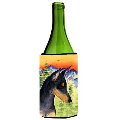 Carolines Treasures SS8425LITERK Manchester Terrier Wine bottle sleeve Hugger • AUD 48.26