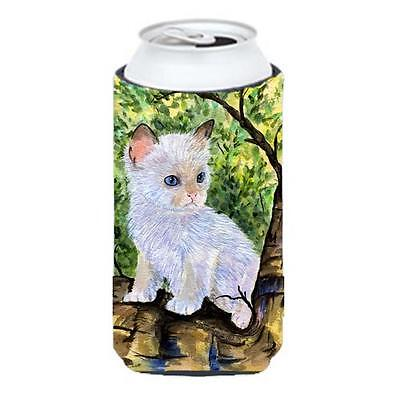 Carolines Treasures Cat Ragdoll Tall Boy bottle sleeve Hugger 22 To 24 oz.