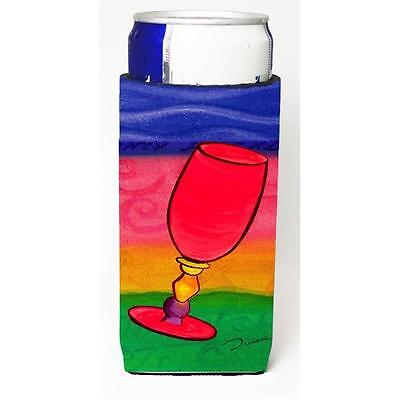 Carolines Treasures Wine Michelob Ultra bottle sleeves For Slim Cans 12 oz. • AUD 47.47