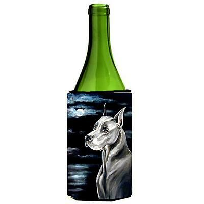 Carolines Treasures Great Dane Moonlight Wine bottle sleeve Hugger 24 oz.