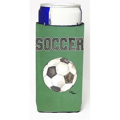 Carolines Treasures 8484MUK Soccer Michelob Ultra bottle sleeve for Slim Can