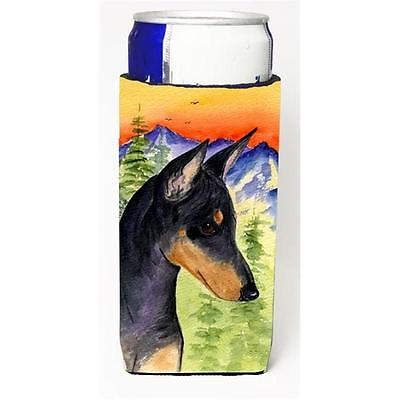 Carolines Treasures Manchester Terrier Michelob Ultra bottle sleeve for Slim Can