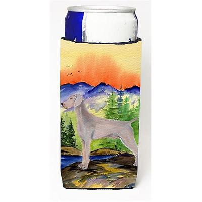 Weimaraner Michelob Ultra bottle sleeves For Slim Cans 12 oz.