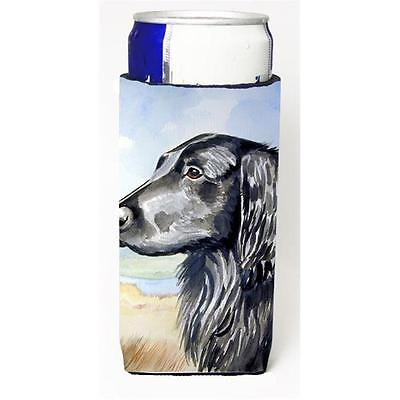 Flat Coated Retriever Michelob Ultra bottle sleeves for slim cans 12 oz.