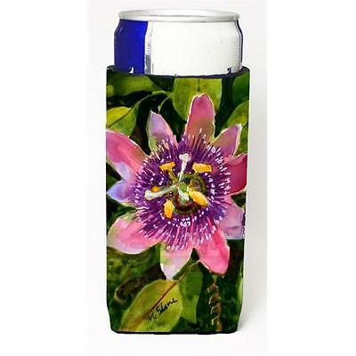 Flower Passion Flower Michelob Ultra bottle sleeve for Slim Can