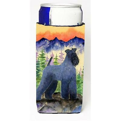 Kerry Blue Terrier Michelob Ultra bottle sleeves for slim cans 12 oz.