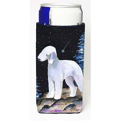 Starry Night Bedlington Terrier Michelob Ultra bottle sleeves for slim cans 1...