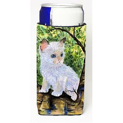 Cat Ragdoll Michelob Ultra bottle sleeves For Slim Cans 12 oz.