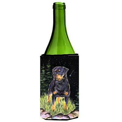 Carolines Treasures Starry Night Rottweiler Wine bottle sleeve Hugger 24 oz.