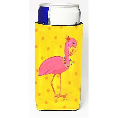 Carolines Treasures Bird Flamingo Michelob Ultra bottle sleeve for Slim Can