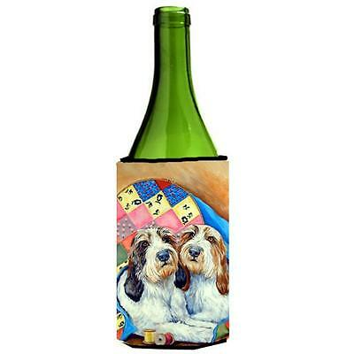 Petit Basset Griffon Vendeen Wine bottle sleeve Hugger 24 oz.
