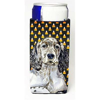 English Setter Candy Corn Halloween Portrait Michelob Ultra bottle sleeves Fo...