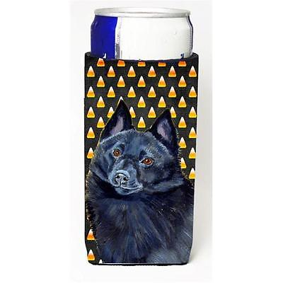 Schipperke Candy Corn Halloween Portrait Michelob Ultra bottle sleeves For Sl...
