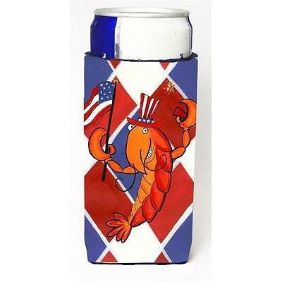 Crawfish Patriotic Usa Michelob Ultra bottle sleeve for Slim Can