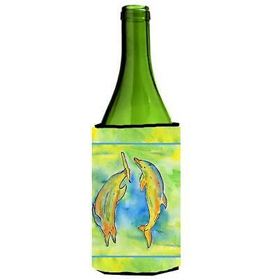 Carolines Treasures 8380LITERK Dolphin Wine bottle sleeve Hugger