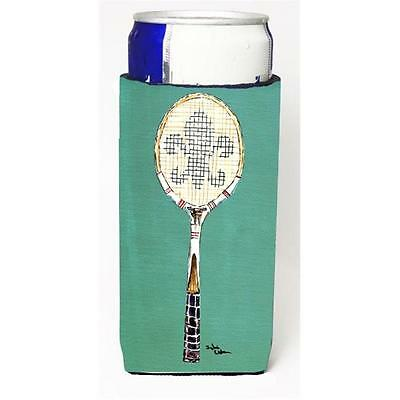 Fleur De Lis Tennis Michelob Ultra bottle sleeve for Slim Can
