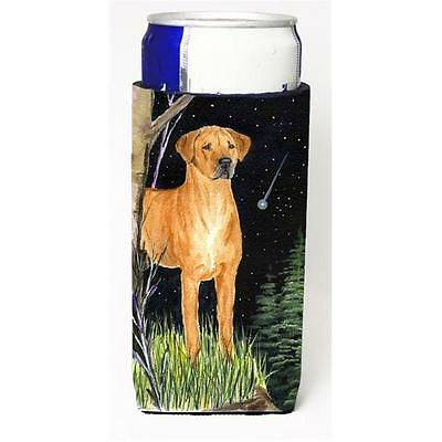 Starry Night Rhodesian Ridgeback Michelob Ultra bottle sleeves For Slim Cans ...