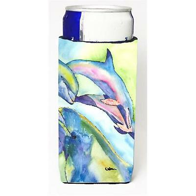 Carolines Treasures Dolphin Michelob Ultra bottle sleeves for slim cans 12 oz.