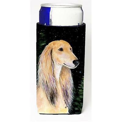 Starry Night Saluki Michelob Ultra bottle sleeves For Slim Cans 12 oz.