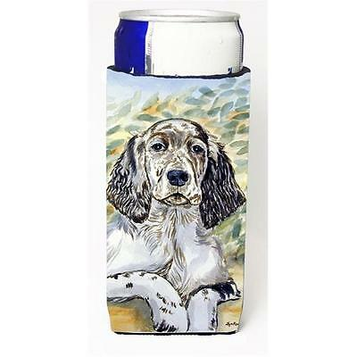 English Setter Patience Michelob Ultra bottle sleeves for slim cans 12 oz.