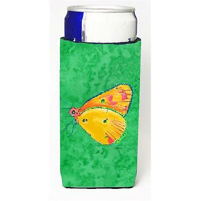 Butterfly Orange On Green Michelob Ultra bottle sleeves For Slim Cans 12 oz.