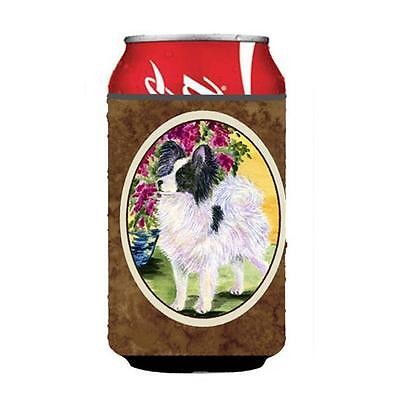Carolines Treasures SS8477CC Papillon Can Or bottle sleeve Hugger 12 oz.