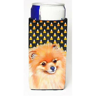 Pomeranian Candy Corn Halloween Portrait Michelob Ultra bottle sleeves For Sl...