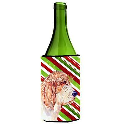 Petit Basset Griffon Vendeen Holiday Christmas Wine bottle sleeve Hugger 24 oz.