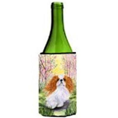 Carolines Treasures SS8613LITERK English Toy Spaniel Wine bottle sleeve Hugger