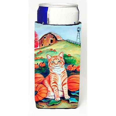 Tabby Cat In Pumpins Michelob Ultra bottle sleeves For Slim Cans 12 oz.