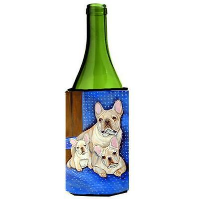 Carolines Treasures French Bulldog Mommas Love Wine bottle sleeve Hugger