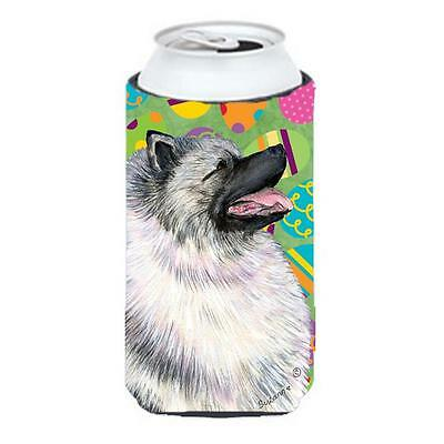Carolines Treasures Keeshond Easter Eggtravaganza Tall Boy bottle sleeve Hugger