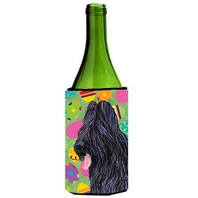Carolines Treasures Briard Easter Eggtravaganza Wine bottle sleeve Hugger