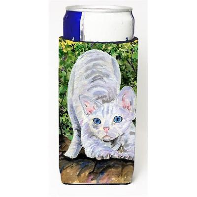 Cat Devon Rex Michelob Ultra bottle sleeves For Slim Cans 12 oz.
