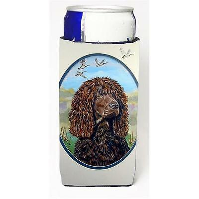 Irish Water Spaniel Michelob Ultra bottle sleeves For Slim Cans 12 oz.