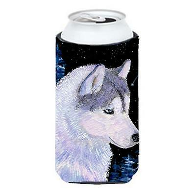 Carolines Treasures SS8617TBC Siberian Husky Tall Boy bottle sleeve Hugger • AUD 47.47