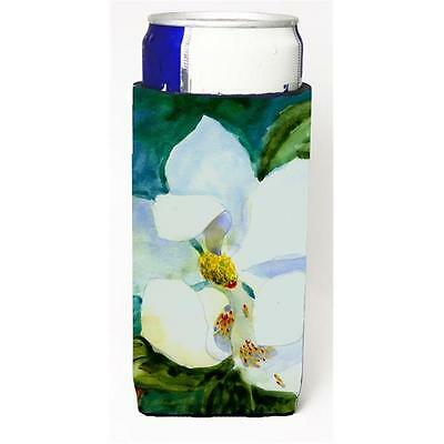 Carolines Treasures Flower Magnolia Michelob Ultra bottle sleeve for Slim Can
