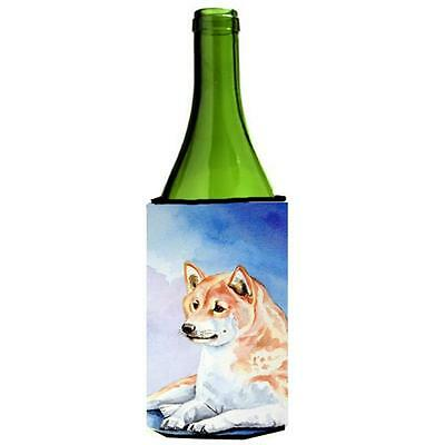 Carolines Treasures 7135LITERK Shiba Inu Wine bottle sleeve Hugger 24 oz.